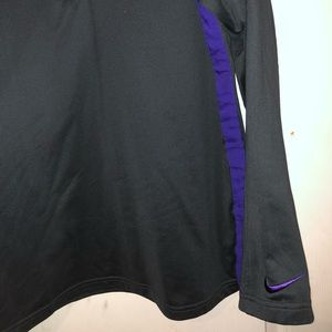 Nike LSU quarter-zip- Black